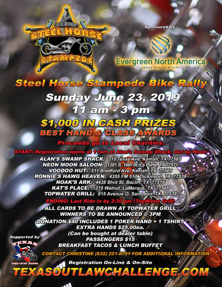 Street Horse Stampede Rally Flyer