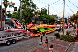 Stampede Boat Street Party